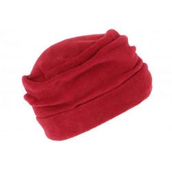 Bonnet Beret Femme Rouge Toque Polaire Déperlante Marine Hiver Ylsa CHAPEAUX Léon montane