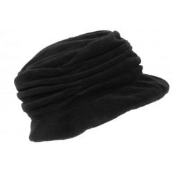 Beret Bonnet Femme Noir Chapeau Polaire Déperlante Classe Hiver Lylya CHAPEAUX Léon montane