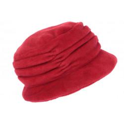 Beret Bonnet Femme Rouge Chapeau Polaire Déperlante Hiver Classe Lylya CHAPEAUX Léon montane