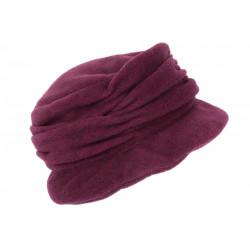 Beret Bonnet Femme Violet Chapeau Polaire Déperlante Mode Hiver Lylya CHAPEAUX Léon montane