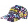 Casquette Plata o Plomo Jaune et Violette Strass Streetwear Colombia Baseball