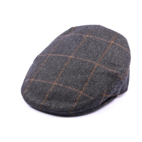 Casquette Plate Kinloch Tweed Anthracite Taille 58 ANCIENNES COLLECTIONS divers