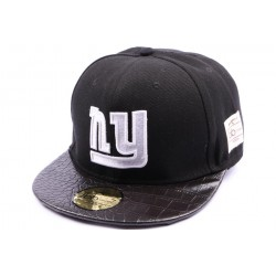 Snapback JBB Couture noir avec logo NY CASQUETTES JBB COUTURE