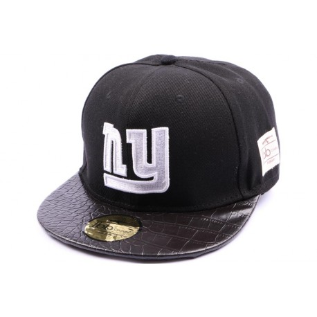 Snapback JBB Couture noir avec logo NY