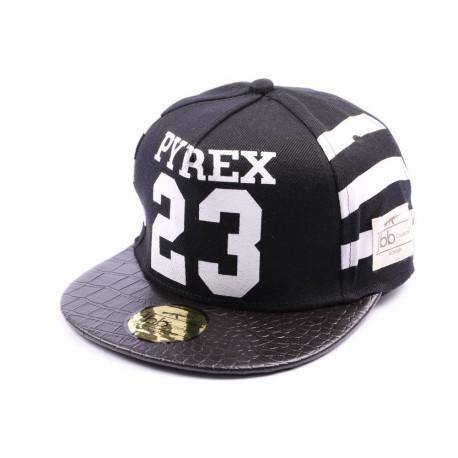 Snapback JBB Couture PYREX 23 noire