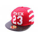 Snapback JBB Couture PYREX 23 Rouge