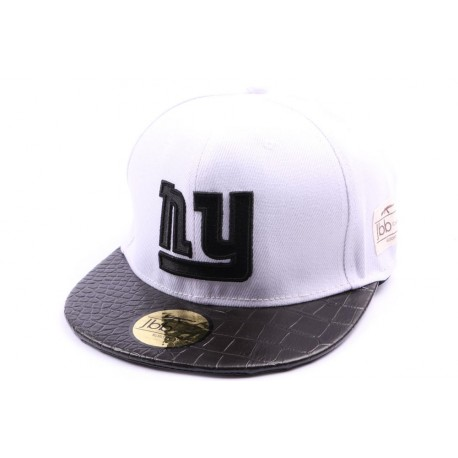 Snapback JBB Couture Blanche NY