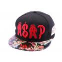 Casquette Snapback JBB Couture ASAP Rouge Noire Urbanwear