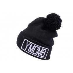 Bonnet à revers YMCMB Noir ANCIENNES COLLECTIONS divers