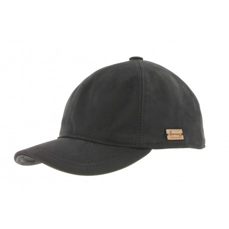 Casquette Baseball Cuir Noir Herman Greg ANCIENNES COLLECTIONS divers