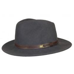 Chapeau feutre Herman Rob Gris