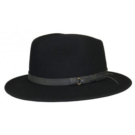 Chapeau Feutre Herman Rob Noir