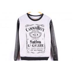 Pull / Sweatshirt streetwear Cannabis Sativa Legalize