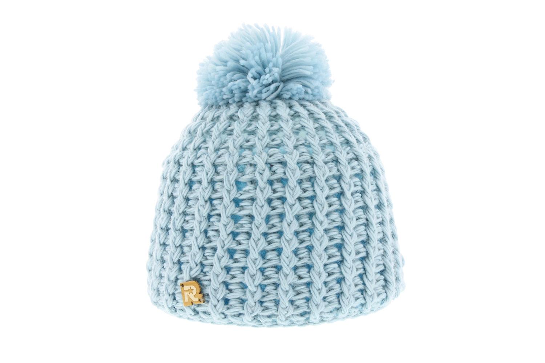 KGM Accessories Bonnet seau en velours c/ôtel/é Taille unique bleu