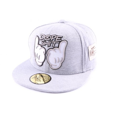 Casquette Snapback JBB Couture Grise Dope Shit