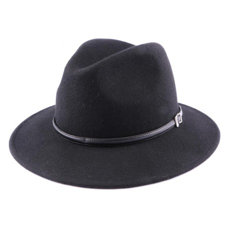 Chapeau Feutre Rock en Noir