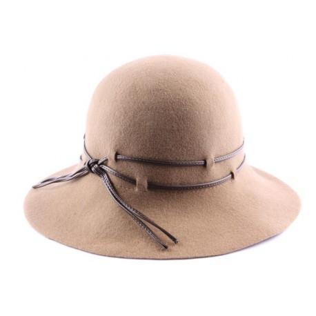 Chapeau Feutre Tricia Caramel