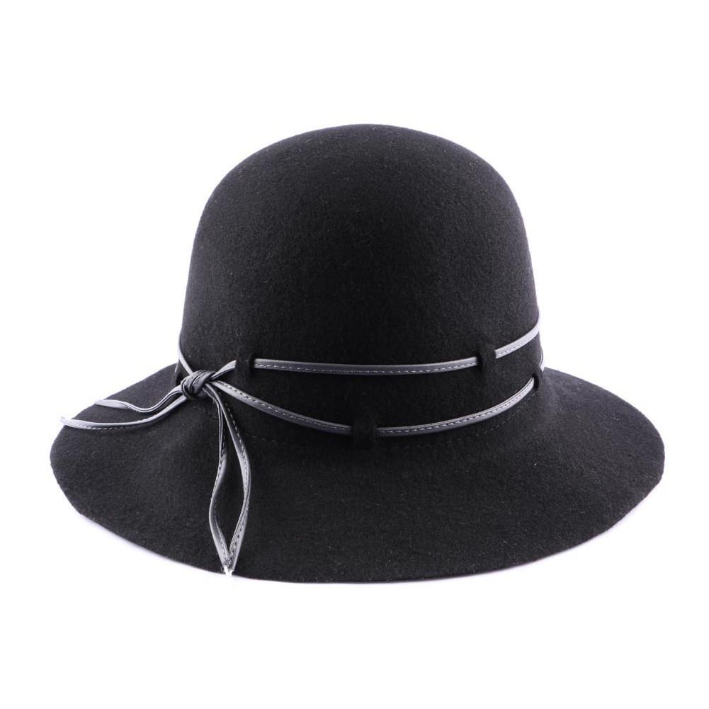 achat capeline noir boutique en ligne hatshowroom. Black Bedroom Furniture Sets. Home Design Ideas