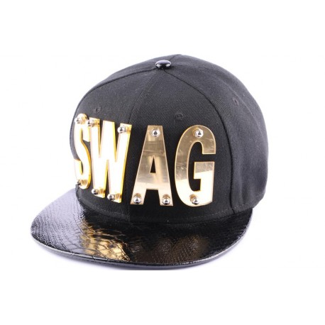 8445bfb59899a Snapback JBB Couture Noire, SWAG, serpent ANCIENNES COLLECTIONS divers