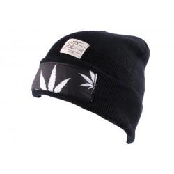 Bonnet JBB Couture noir avec impréssion BONNETS JBB COUTURE