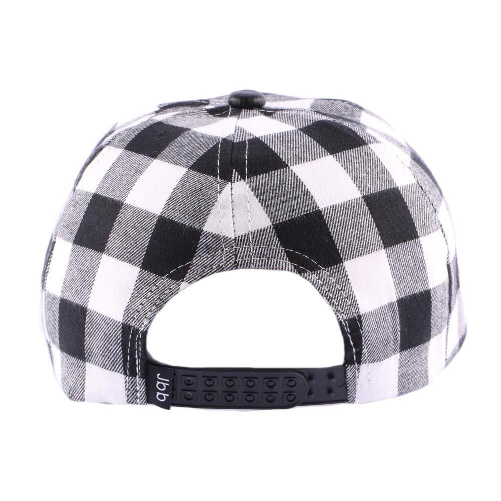 snapback jbb coutre carreaux boutique headwear hatshowroom. Black Bedroom Furniture Sets. Home Design Ideas