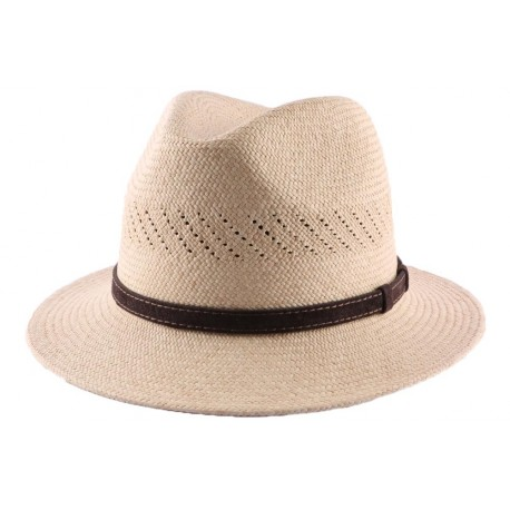 Chapeau panama Murfield naturel