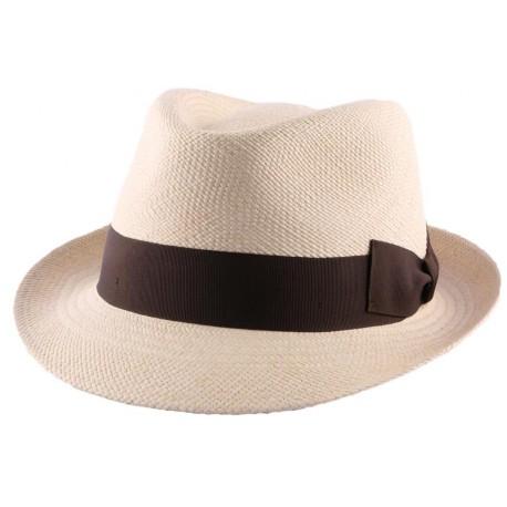 Chapeau Panama Adam en coloris Ecru