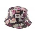 Bob JBB Couture Tissu imprimé Fleur Rose