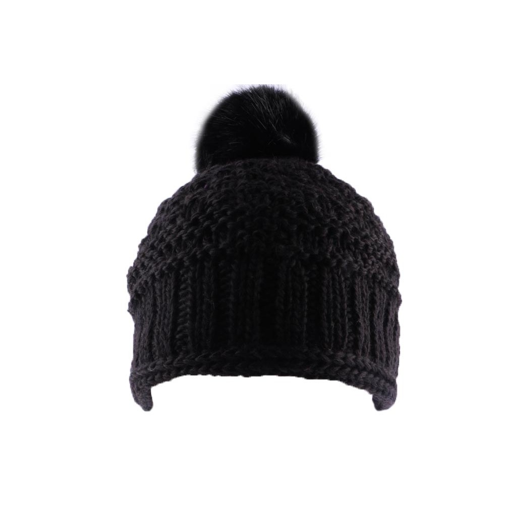 bonnet pompon noir bonnet frai par l on montane sur hatshowroom chapellerie traditionnelle. Black Bedroom Furniture Sets. Home Design Ideas