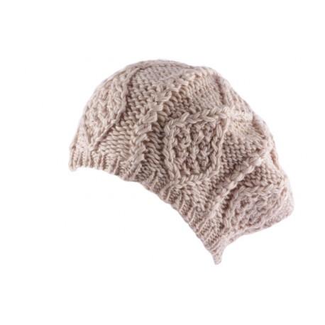 Bonnet Oversize Icecool Marron Clair