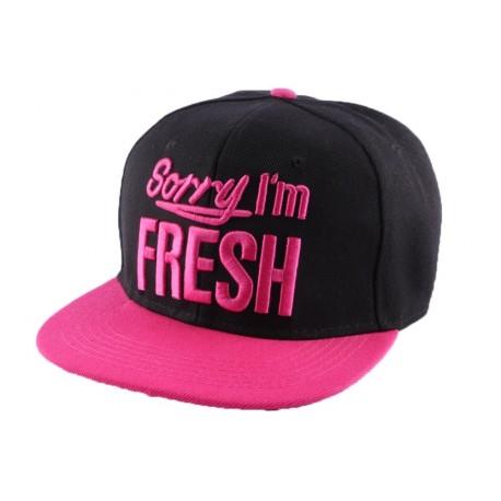 Snapback Hip Hop Sorry I' Swag noire