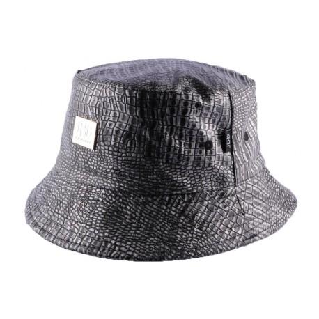 Bob JBB Couture Noir style croco luxe