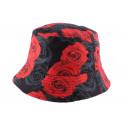 Bob Hip Hop Imprimé Rose Florale