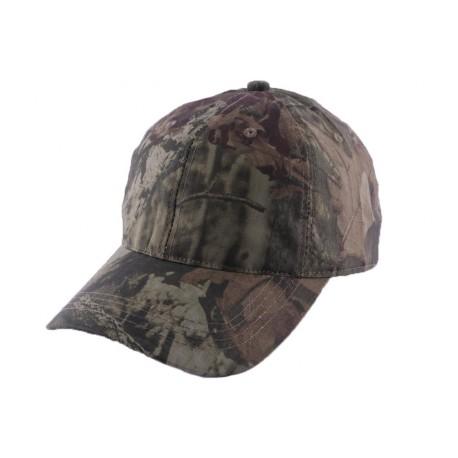 Casquette Chasse Baseball Camouflage Kaki