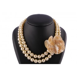 Collier Irizza Perles Gold