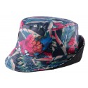 Bob JBB Couture Florale Bleu clair Tropic