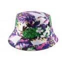 Bob JBB Couture Florale blanc violet