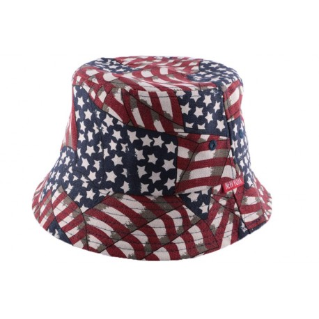 Bob NY en tissu drapeau USA