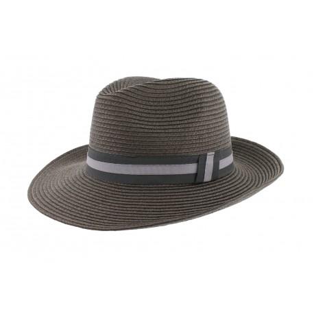 Chapeau Paille Mottled Herman Headwear Taupe