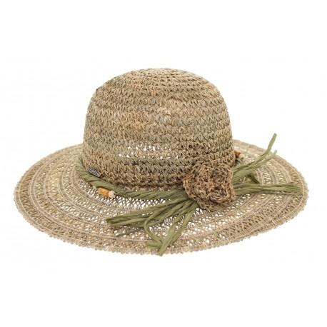 Chapeau paille Raphia Naturel Herman headwear