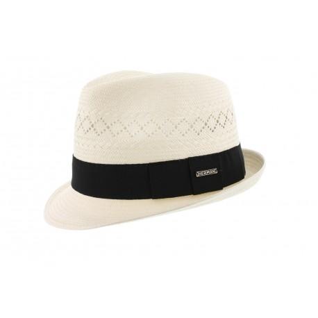 Chapeau paille Harper Ecru Herman Headwear