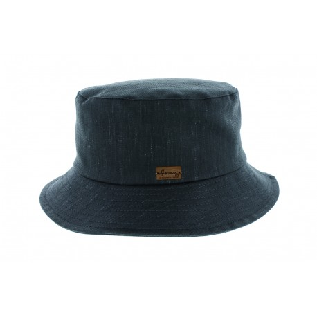 Chapeau pluie Rain Catarina Noir Herman Headwear