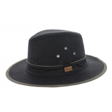 Chapeau pluie Rain Ernesto Noir Herman Headwear