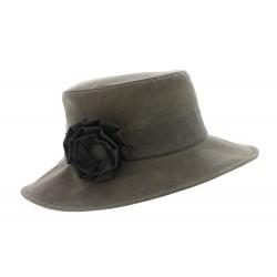 Chapeau pluie Rain Sol Taupe Herman Headwear