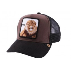 Casquette Trucker Goorin Bros King Marron