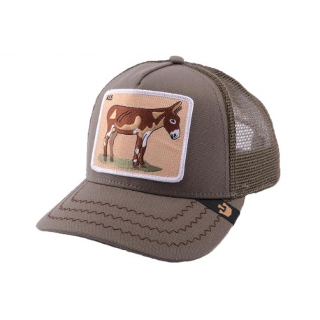Casquette Trucker Goorin Bros Donkey Ass Olive ANCIENNES COLLECTIONS divers