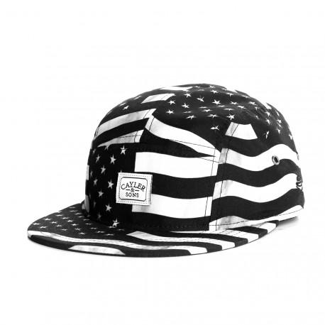Casquette 5 panel Cayler and Sons Flagged Us
