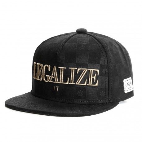Snapback Cayler & Sons Legalize it Noire