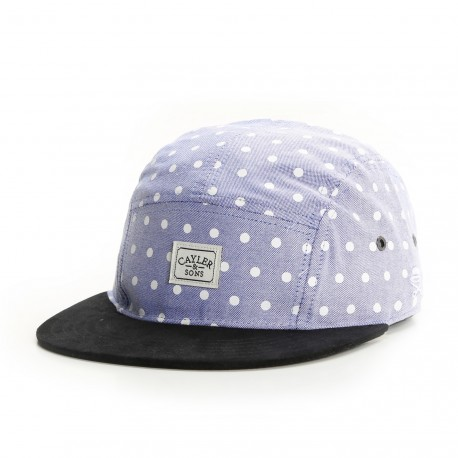 Casquette 5 panel Cayler and Sons Dotted Bleu