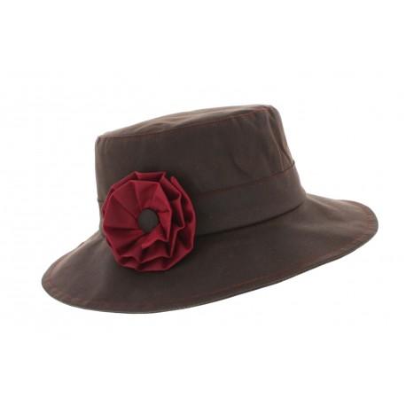 Chapeau pluie Rain Sol Marron Herman Headwear